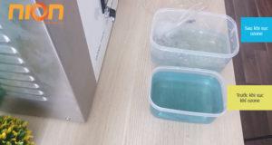 Khử màu nước & khử trùng bằng công nghệ Ozone
