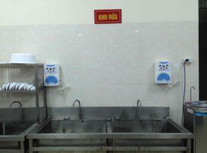 Hình ảnh máy khử độc thực phẩm DrOzone tại bệnh viện 354 Ba Đình